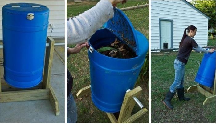 Cómo hacer una compostera giratoria paso a paso, Noticias Agropecuarias